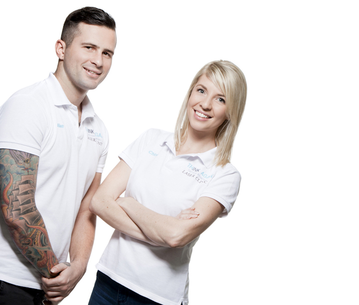 tattoo removal couple