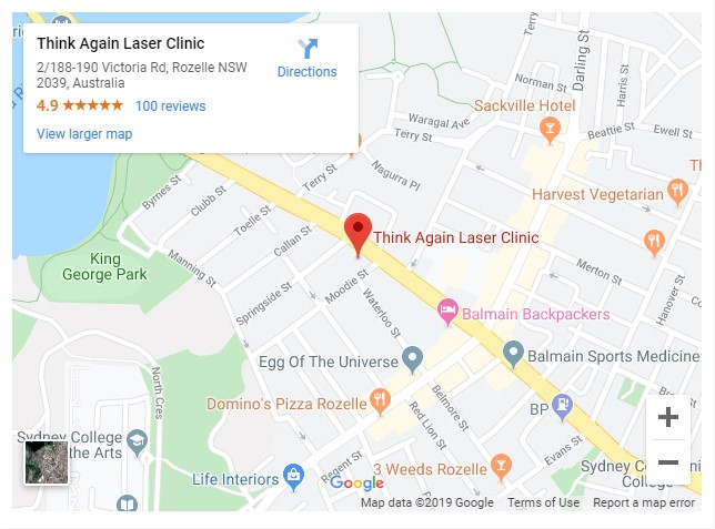think again laser clinic rozelle